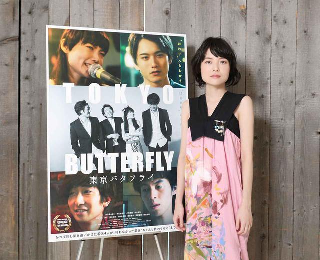 画像1: シンガーソングライター白波多カミンが映画初主演を飾った『東京バタフライ』が9月11日より公開。「私の全部を出し切ってやる」と、意気込んで演技に取り組んだ