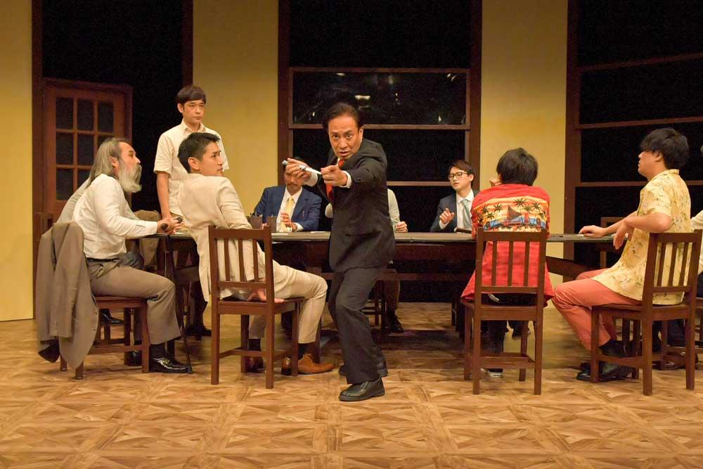 画像2: 劇団ナイスコンプレックス・プロデュースの舞台『12人の怒れる男』が大阪市立芸術創造館にて開幕