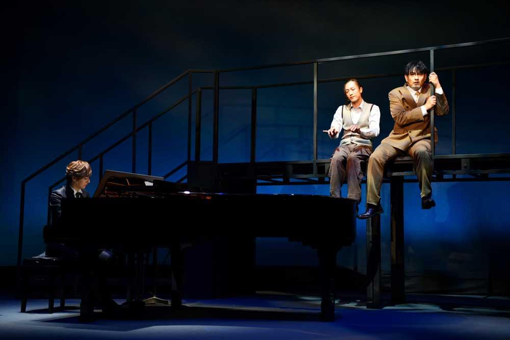 画像2: 世界的名作を、オリジナル楽曲満載でおくる。音楽劇『海の上のピアニスト』、池袋で上演中