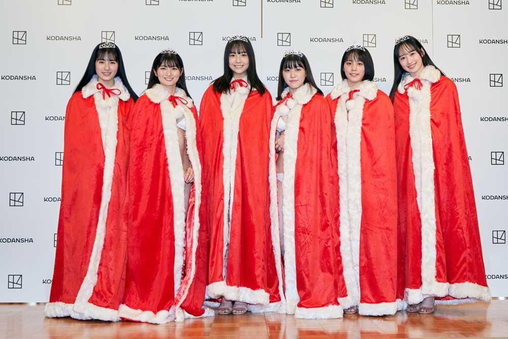 画像: 写真左から内藤花恋、大島璃乃、天野きき、和泉芳怜、山岡雅弥、辻優衣