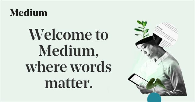 画像: Medium – a place to read and write big ideas and important stories