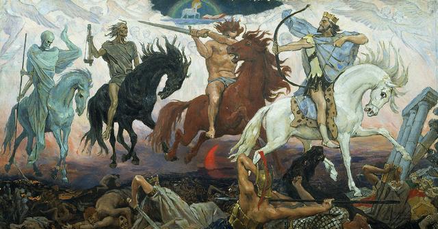 画像: ヨハネの黙示録の四騎士 - Wikipedia