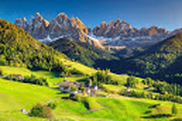 画像: アルプス山脈