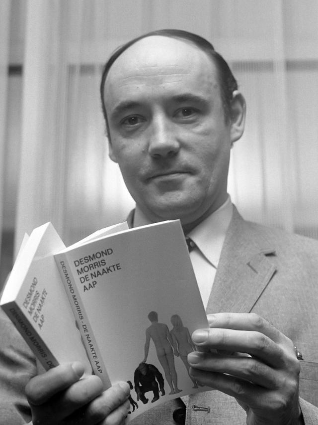 画像: 行動科学者 デズモンド・モリス氏(1月24日生まれなので2020年1月28日現在92歳でお元気だそうです)