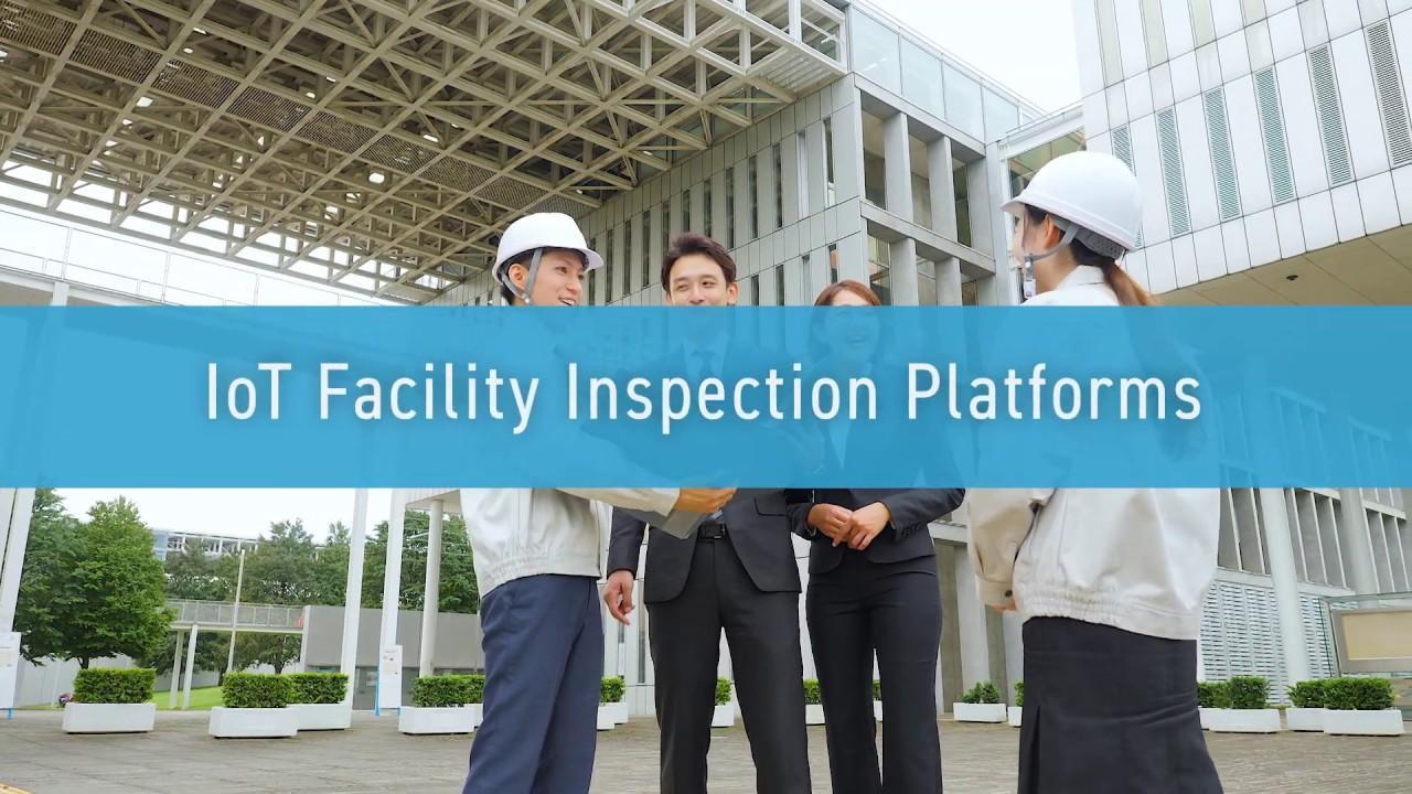 画像: The Nihon Unisys Group: Facility Inspection IoT Service (2019) www.youtube.com