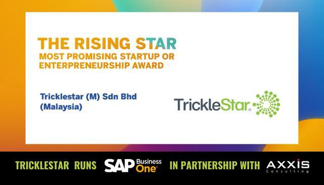 """画像: TrickleStar is """"The Rising Star"""" - Axxis Consulting"""