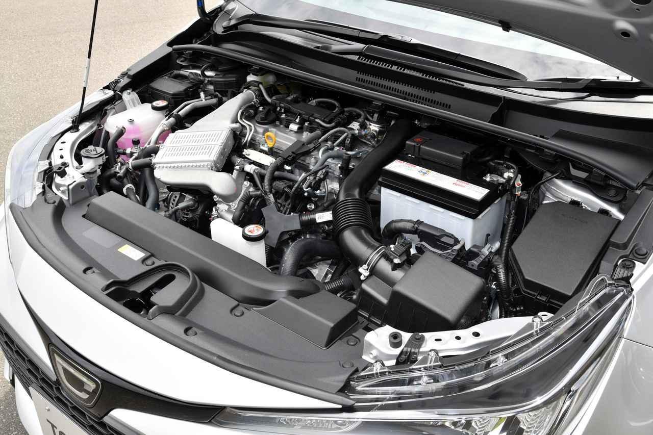 画像: 1.2L ターボのエンジンルーム