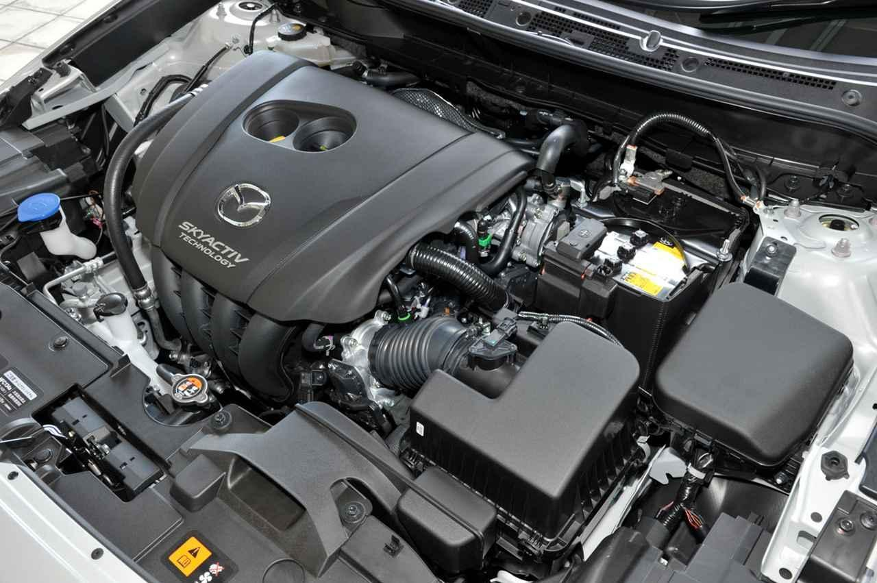 画像: ガソリン仕様の2L直4エンジンも改良され、燃費やパワーを改善