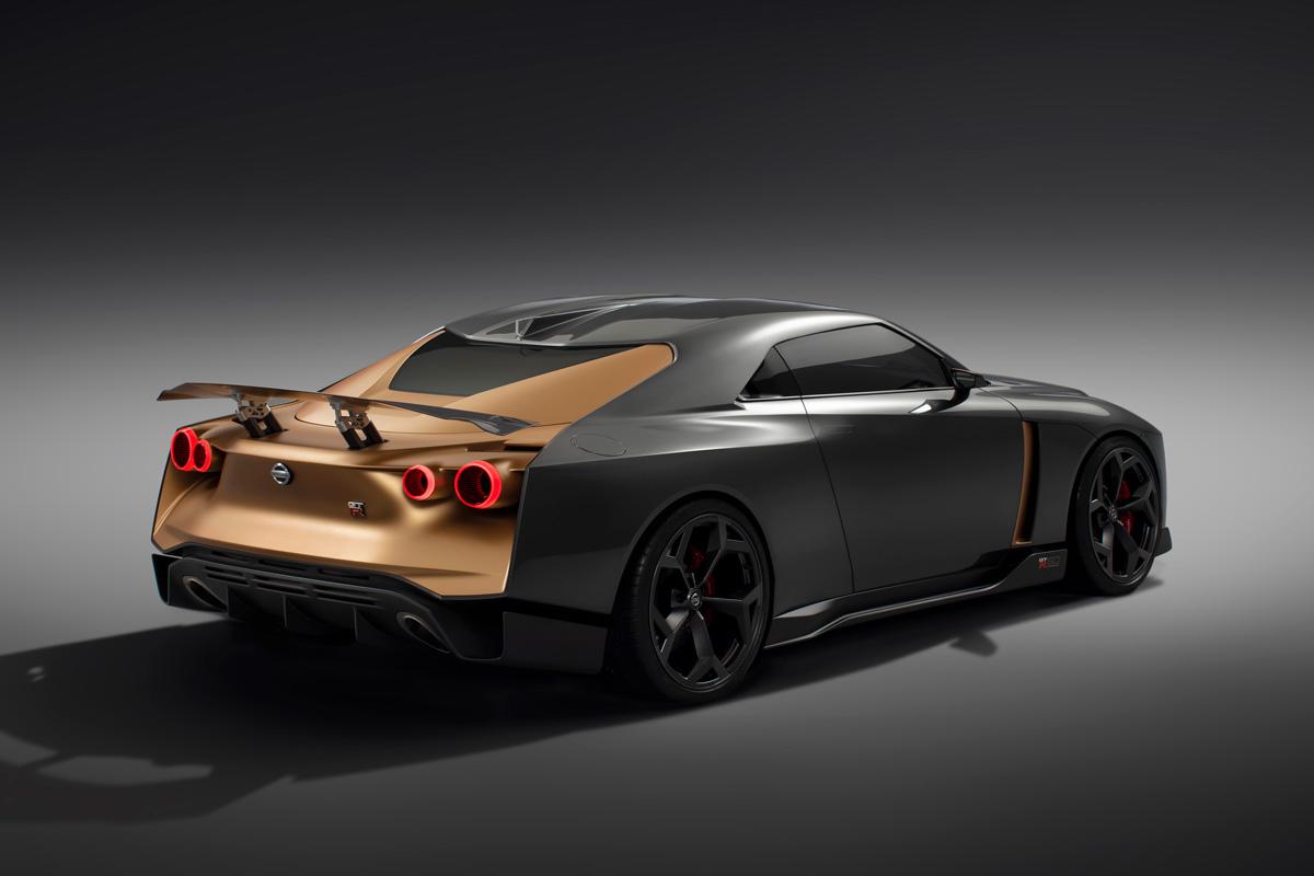画像: 「GT-R50 by Italdesign」として2019年に市販化されると予測