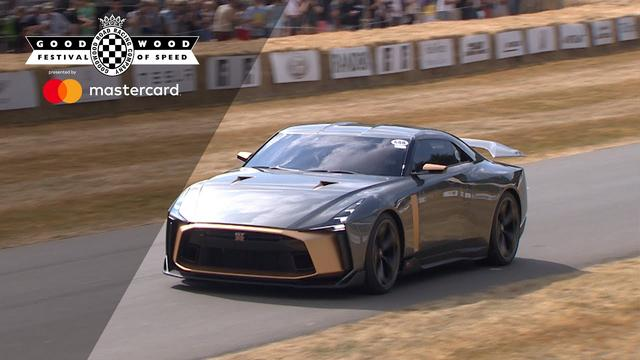画像: 710bhp ItalDesign GT-R50 makes debut at FOS youtu.be