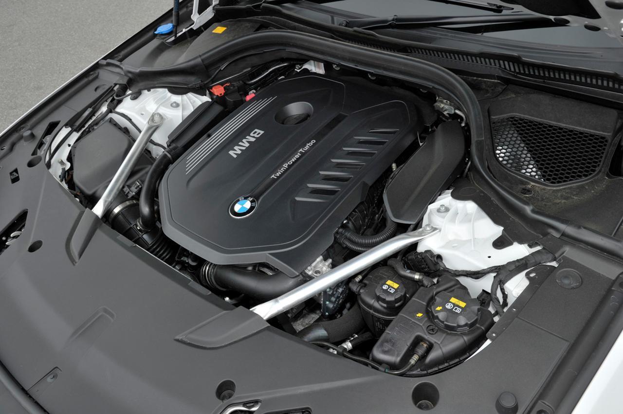 画像: 3L 直6ターボエンジンは340ps/450Nmを発生する。