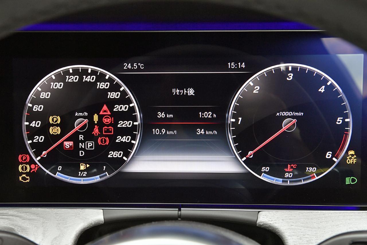 画像: メーターとセンターのパネルは、2枚の12.3インチワイドディスプレイ。ステアリングのスイッチやセンターコンソールのコマンドダイヤルで画面の変更などの操作が可能