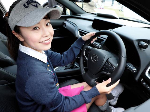 画像: 「高級感に抜かりはありません。ゆったり座れても車はコンパクト。大きな車の運転が苦手な人も安心です」