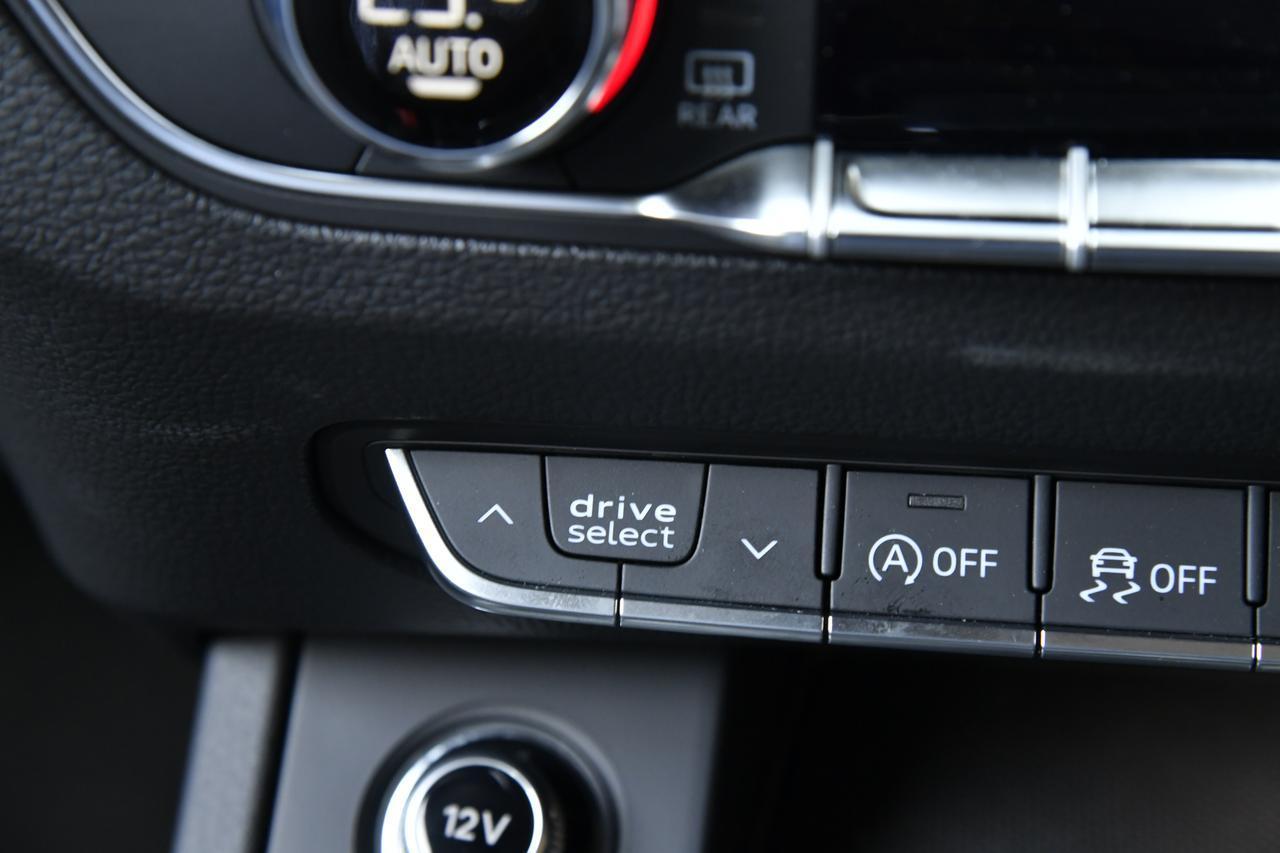 画像: アウディドライブセレクトのボタンはココ。6つの走行モードを選択できる