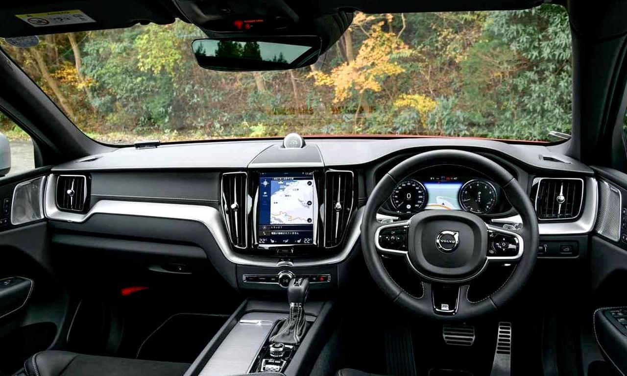 画像: 縦型9インチのタッチスクリーンはボルボのアイコンとなっている。