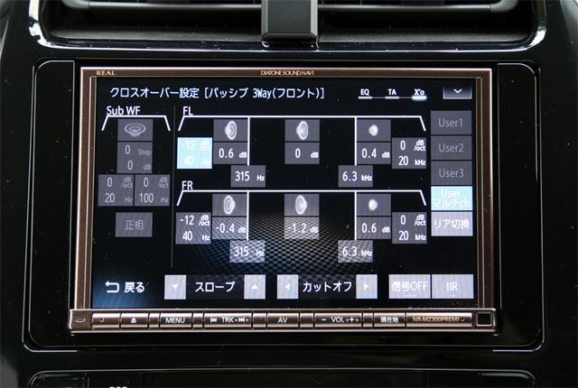 画像2: AVナビだけ換装したシンプルデモカー