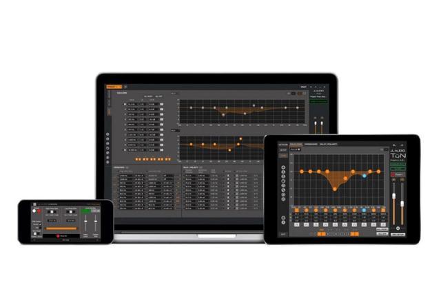 画像: 専用調整アプリ「TüN」は、スマホ、タブレット、パソコンと各デバイスごとに用意されている。