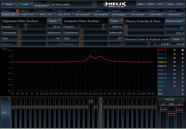 画像: ヘリックスDSP PRO MK IIのEQ調整は、31バンドのグラフィックイコライザーのようでありながら、全バンドともパラメトリックイコライザー機能を備える強者だ。