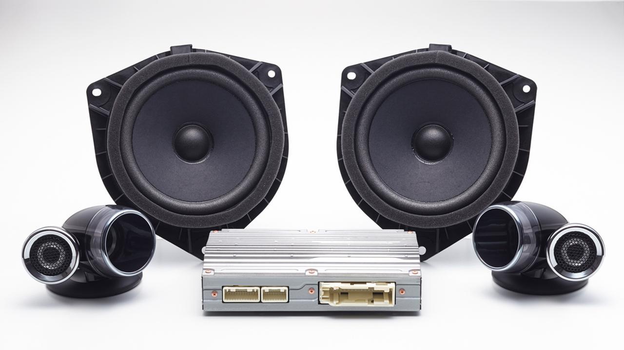 画像: ハイレゾ対応サウンドパッケージの構成ユニット