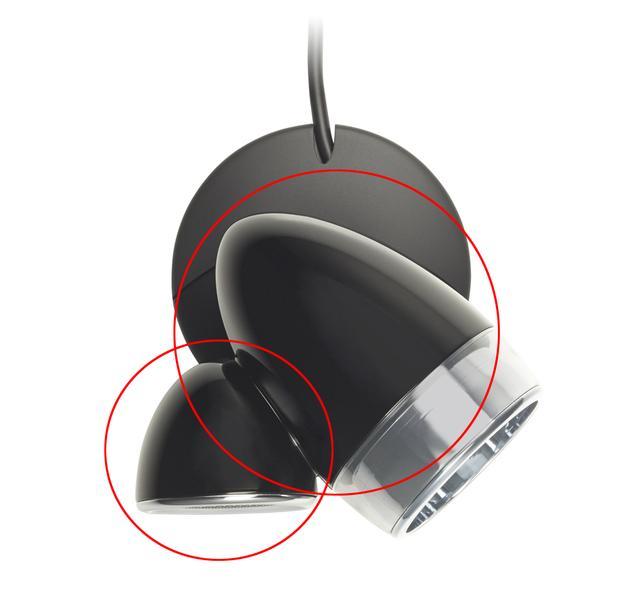 画像: 砲弾のような「ラウンドシェイプド・エンクロージャー」は、角をなくすことで音の波形の乱れる原因を排除しようというデザインで、こちらもECLIPSE TDゆずりの技術のひとつ。