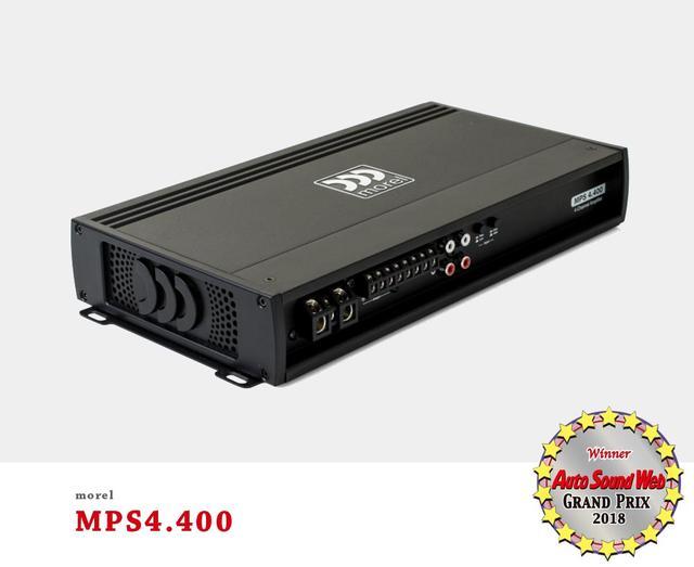 画像2: Auto Sound Web Grand Prix 2018:モレル MPS4.400パワーアンプがグランプリを獲得した理由