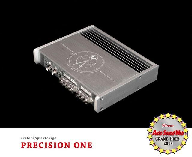 画像2: Auto Sound Web Grand Prix 2018:シンフォニー クワドロリゴ PRECISION ONEパワーアンプがグランプリを獲得した理由