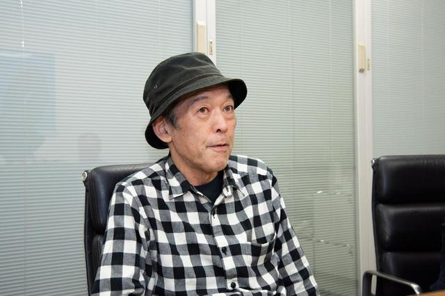 画像: 石田功氏[photo:Akio Shimazu]