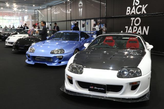 画像: 「Supra is Back to Japan Fes」の会場には先代のスープラ80系も多数展示されている。