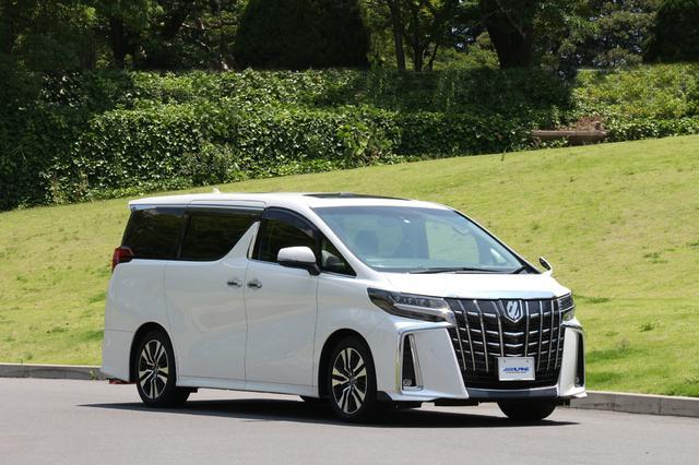 画像: 車種専用コンポーネントを搭載したデモカーのトヨタ アルファード。
