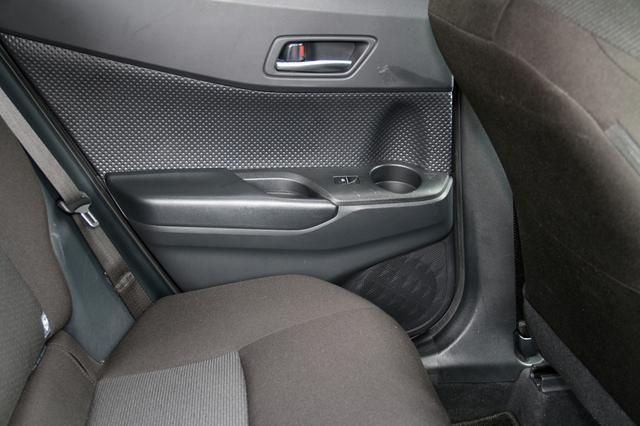 画像: リアドアの下の方、純正スピーカー位置には160mmの同軸2ウェイモデルStadium GTO620が配置される。フロントシートで聴く場合に、音像が後ろに引っ張られないよう、レベル調整が施されている。
