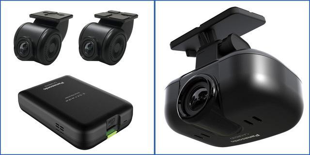 画像: 11月上旬に発売予定のドライブレコーダーCA-DR03TD(左)とCA-DR03D(右)。