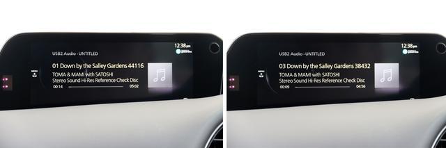 画像: Stereo Soundがリリースしているハイレゾリファレンスディスクの楽曲ファイルを再生してみると、WAVファイルは384kHz/24bitも再生した。DSDファイルについては、再生対応していない。
