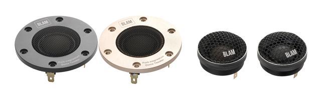 画像: 左の2つはマグネシウムハードドームの上級機TSM25MG70HR、右へTSM25MG45、TSM25S45。