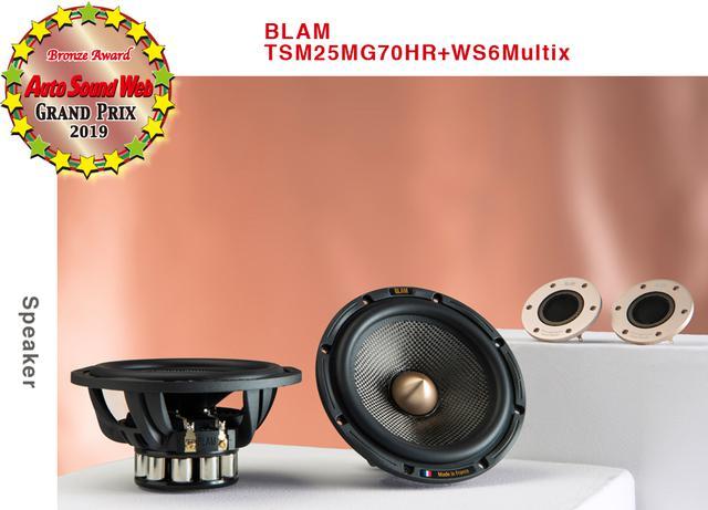 画像3: Auto Sound Web Grand Prix 2019:Bronze Award獲得ブラム Signature Maltixスピーカーの魅力を語る