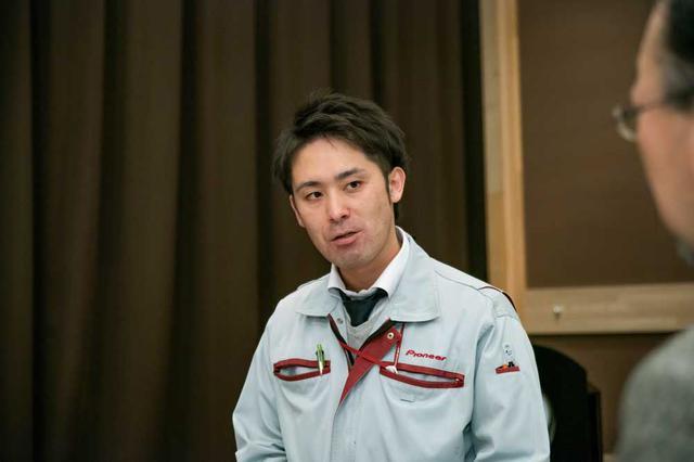 画像: 東北パイオニアの安西貴史氏。TS-Z900PRS開発の中心人物である。
