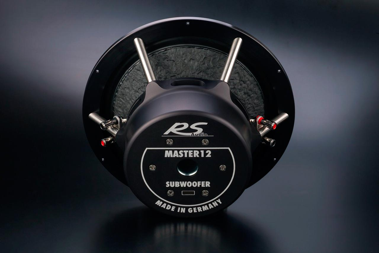 画像1: 独RSオーディオの最上級サブウーファーRS Master 12に特別仕様のブラックエディションが追加
