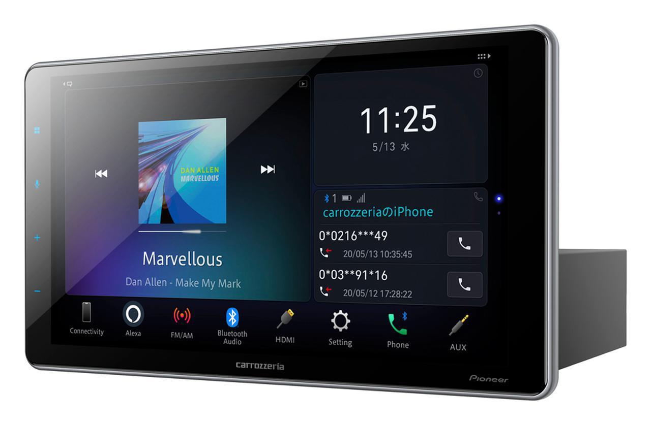 画像: Amazon Alexaをビルトインしたディスプレイオーディオ大画面9V型と2DIN6.8V型を6月リリース。パイオニア カロッツェリア - Stereo Sound ONLINE