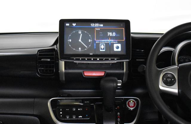 画像: 11インチのDAF11Vの車両装着イメージ(画像はホンダN BOX)。