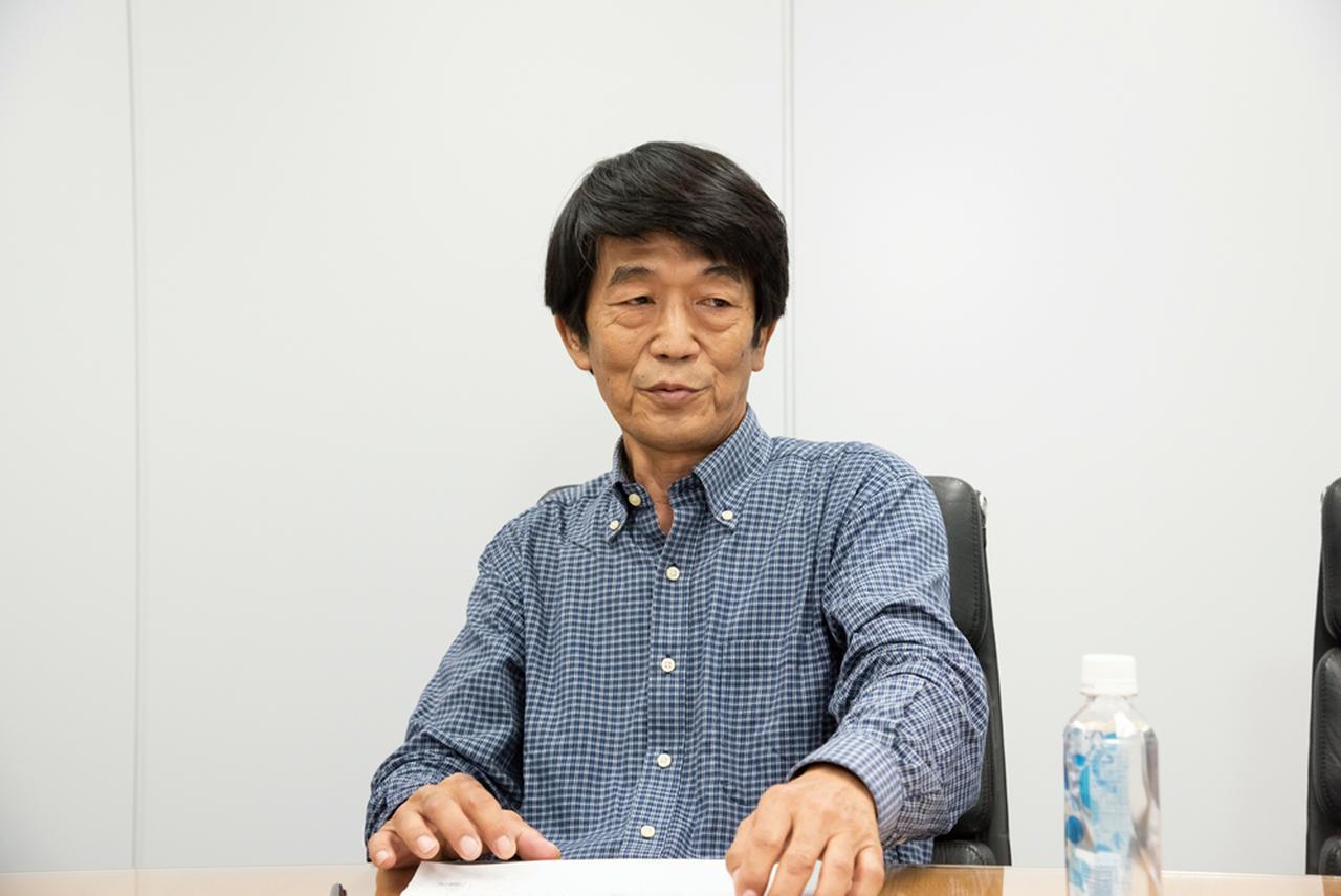 画像: 脇森 宏氏。