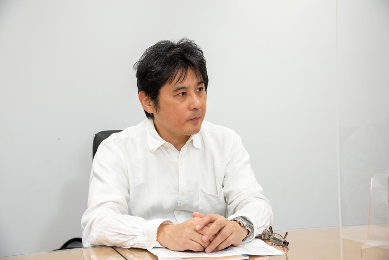 画像: 鈴木裕氏。