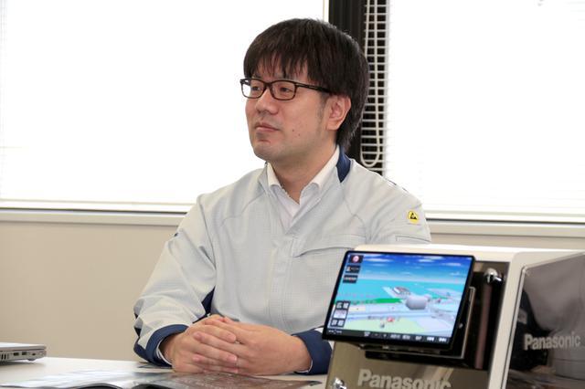 画像: パナソニック株式会社オートモーティブ社 音響設計担当 田食寛之氏。