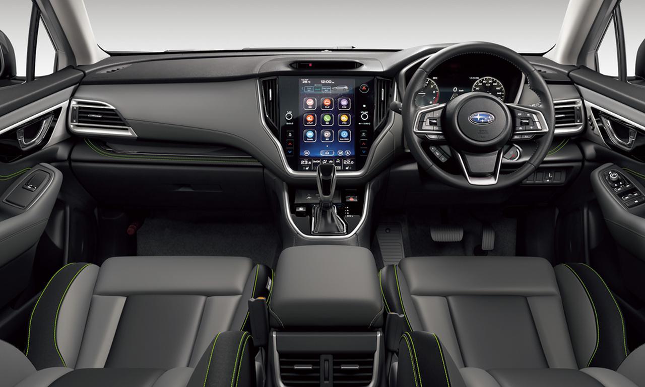 画像: センターコンソールには11.6インチの縦長大画面センターインフォーメーションディスプレイ&インフォテインメントシステムが据えられる。ディスプレイオーディオとして機能するほか、ナビや車両の各種機能設定が行える。