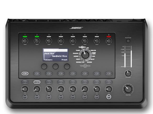 画像: T8S ToneMatch Mixer ToneMatch機能搭載で、素早いセッティングが可能
