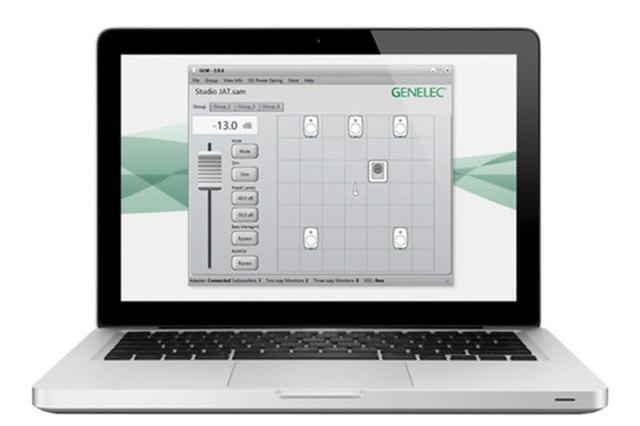画像: プレゼントされるGLMキット(PCは別) Genelec Loudspeaker Manager 3.0と計測用マイクロフォン