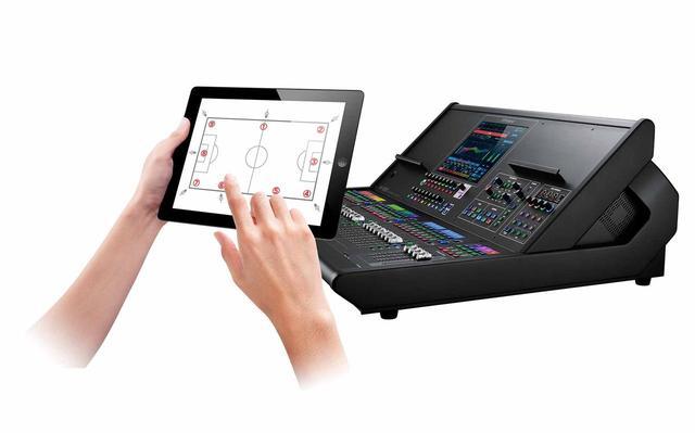 画像1: 「第3回 関西放送機器展」出品情報 ラグナヒルズ Roland Live Mixing Consoleに対応するiPodアプリを参考出品