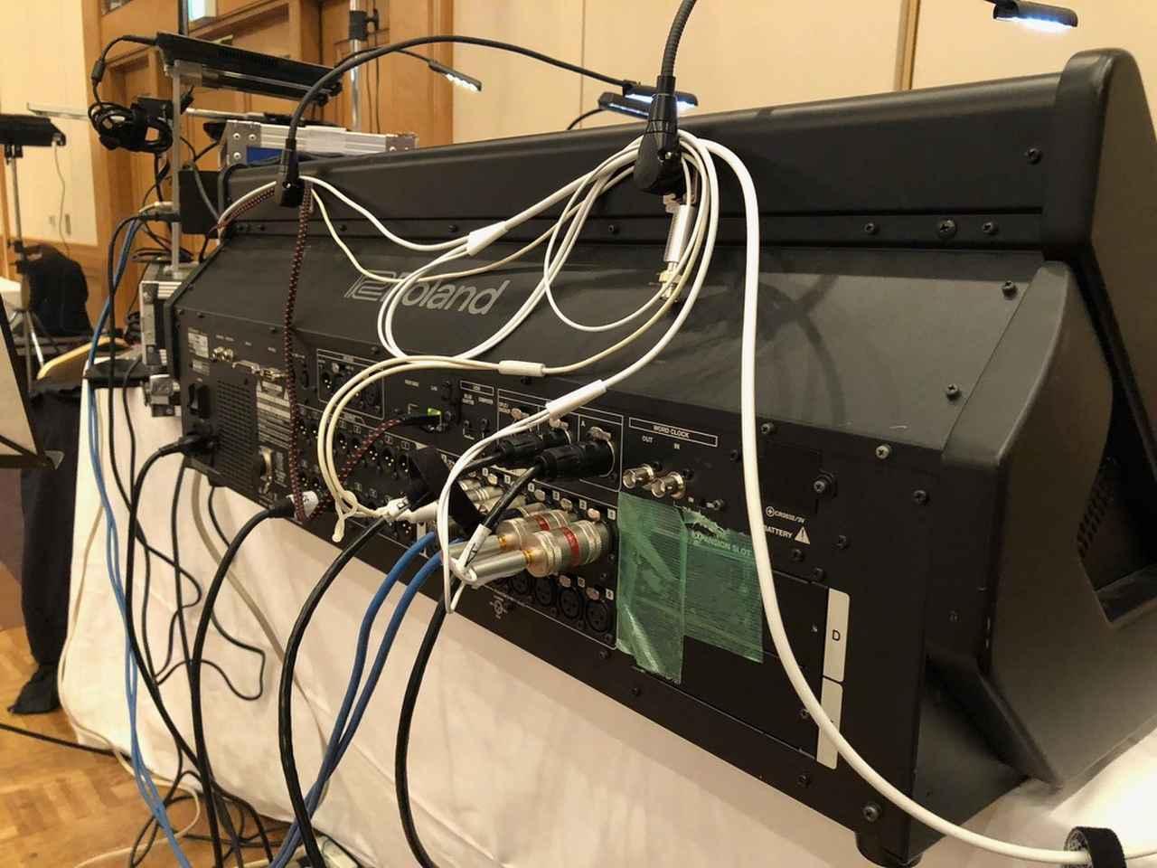画像: Apple iPadの出力はアナログで「M-5000」本体の入力に接続