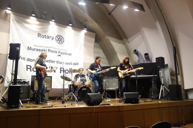 画像: 『MURASAKI ROCK FESTIVAL』にて、審査員バンドのリハーサル風景