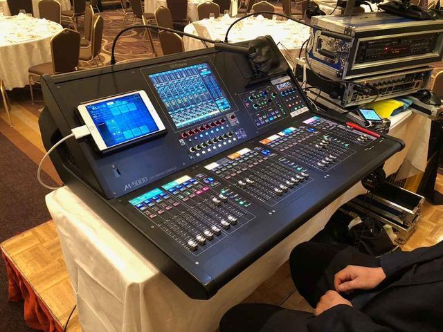 画像: 「スタジオトライデント」の「ローランド O・H・R・C・A M-5000」。ライブ・コンサートを中心に、様々な現場で活用しているという