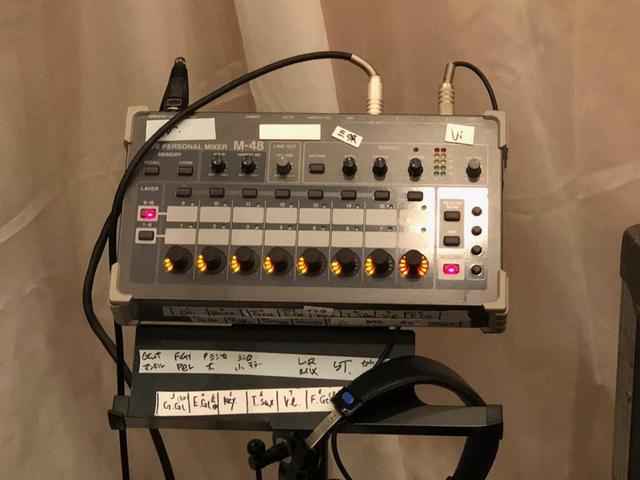 画像: 「スタジオトライデント」では「M-5000」よりも前に「M-48」を導入したとのこと