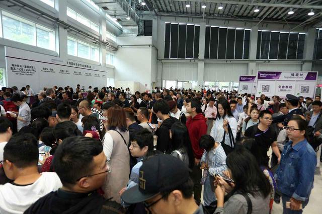 画像: 「Prolight + Sound上海」と同時開催「Music China」のエントランス。上海新国際博覧中心は地下鉄7号線花木路駅側に位置しており、アクセスも良い